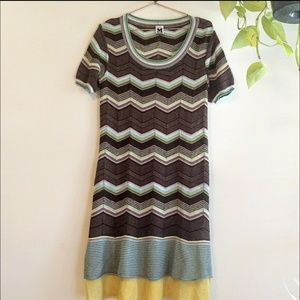 Missoni Chevron pastel dress knit